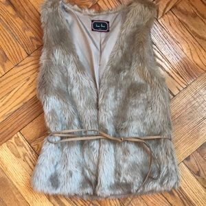 Jackets & Blazers - Faux fur vest